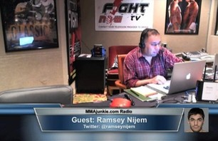 UFC on FX 4\'s Ramsey Nijem on MMAjunkie.com Radio