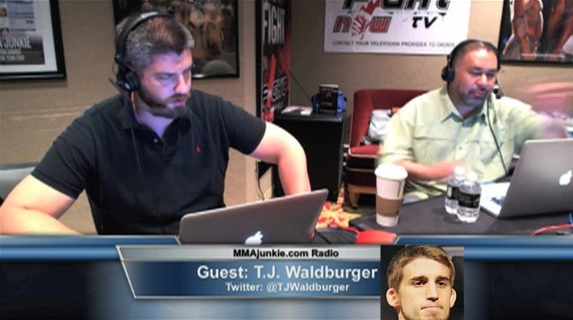 T.J. Waldburger on MMAjunkie.com Radio 6/20/12