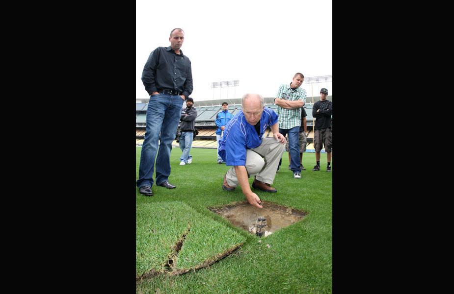 The inaugural Monster Energy Supercross at Dodger Stadium unfolds January 22