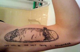 Tattoos and Skateboards Gallery