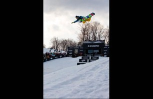 US Open of Snowboarding Pipe Finals Gallery