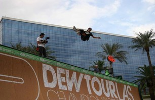 Dew Tour Championships Skate Vert Prelims