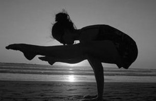 Powerful Black and White Yoga Poses