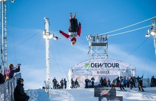 DEW TOUR BRECK SKI PIPE SEMIS