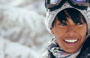Snowboarding Supermodel Amira Ahmed Gallery
