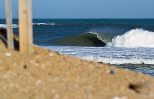 Perfect Winter Surf Along the Outer Banks Photo 0004