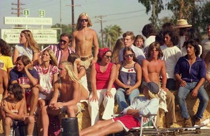 Blast to the Past: Sidewalk Surfer, Huntington Beach 1976