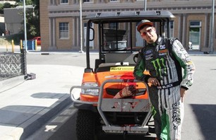 Gymkhana Four Megamercial Behind The Scenes Photo 0003