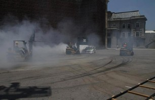 Gymkhana Four Megamercial Behind The Scenes Photo 0007