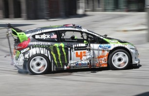 Gymkhana Four Megamercial Behind The Scenes Photo 0008
