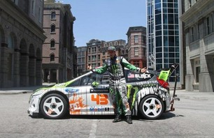 Gymkhana Four Megamercial Behind The Scenes Photo 0009