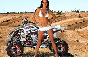 BIKER BABES TO BRAAAPPP OVER