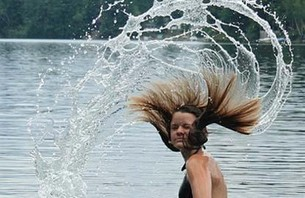Hot Girl Hair Toss