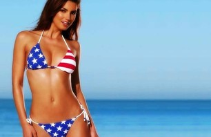4th of July Bikini Gallery - God Bless \'Merica