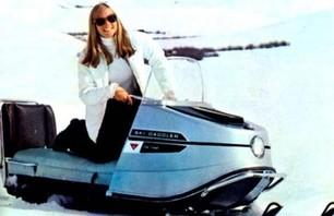 70s Starlets on Snowmobiles Gallery