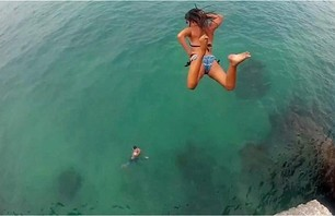 Cliff Jumping Girls of Bermuda (w/video)