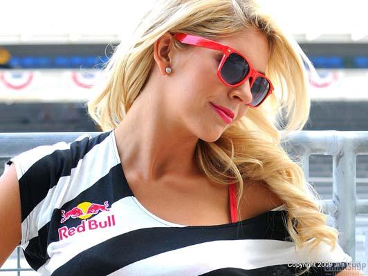 Luscious Ladies of Red Bull - Part 3