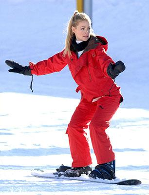 Skiing Celebrities - Part 2 (W/VIDEO)