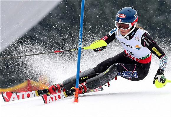 Mikaela Shiffrin Clinches World Slalom Championship