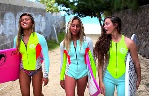Billabong Babes Bring Back 80s Hypercolor (w/video)