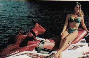 18 Super Ridiculous Girls on Jet Skis Photos