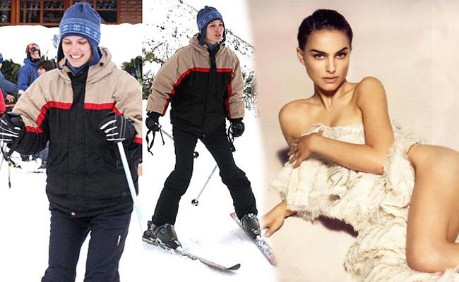 Awkward Celebrity Skiing Photos