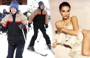 Awkward Celebrity Ski Photos