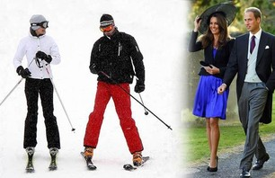 Awkward Celebrity Skiing Photos Photo 0009