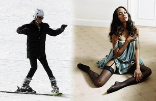 Awkward Celebrity Skiing Photos Photo 0003