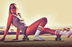 Spectacular Girls with Skateboards Gallery