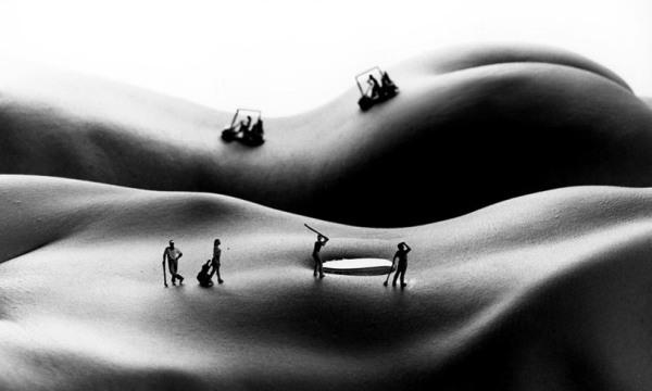 Amazing Body Art by Allan Teger