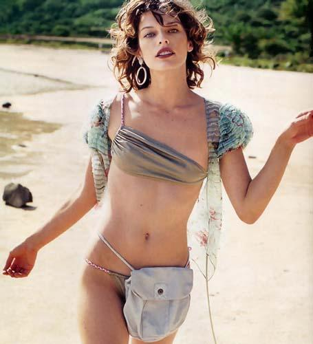 Mila Jovovich Loves the Beach Bikini Album
