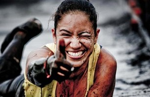 24 Photos of Sexy Spartan Women Playing in the Mud (w/video)