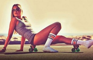 Girls with Skateboards Gallery Part 2