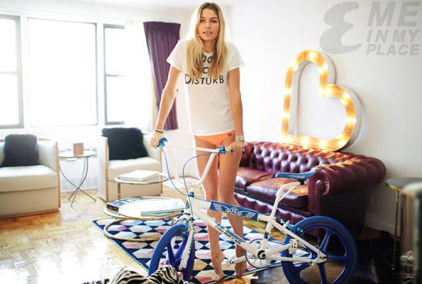 Supermodel Jessica Hart Loves BMX (Pics + Video)