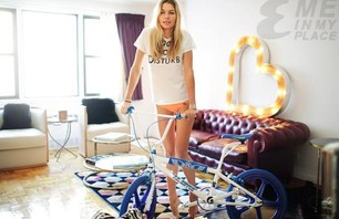 Jessica Hart Loves BMX 