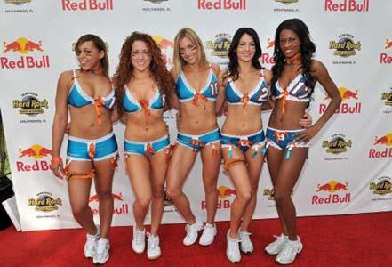 Gorgeous Girls of Red Bull - Part 4