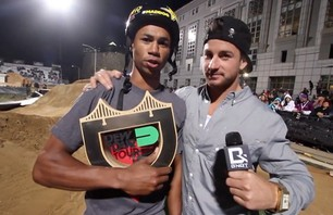 Big Daddy and TJ Ellis - BMX Dirt Final