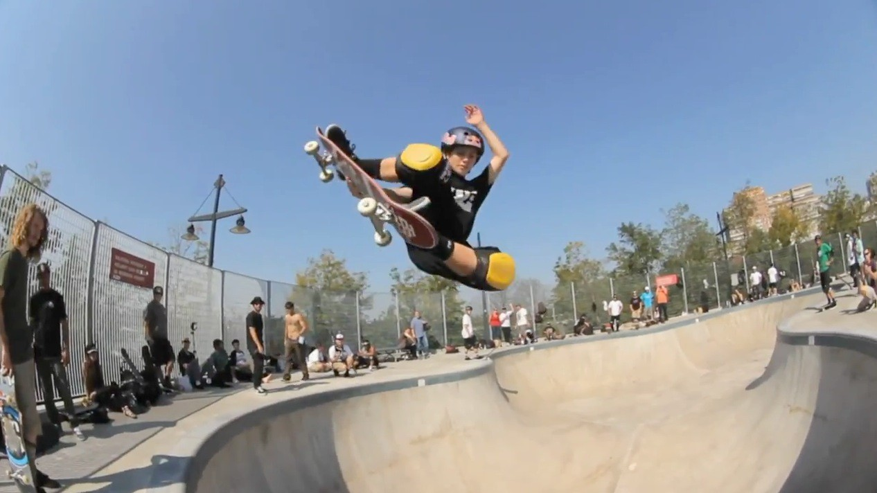 Bowl Session with Tom Schaar and Alex Sorgente - Skaters in NY 2012 USA