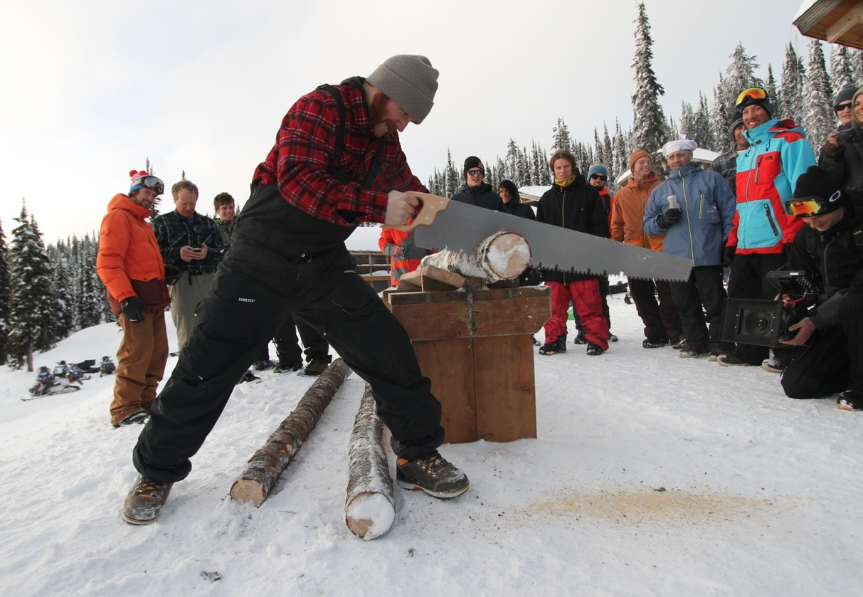 Pat Moore Wins Lumberjack Award at Ultra Natural