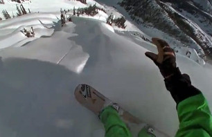 Jeremy Jones POV Pow Line Will Make You Drool