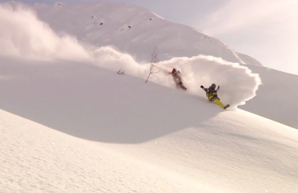 Travis Rice and Brian Fox Explore Untouched Alaska