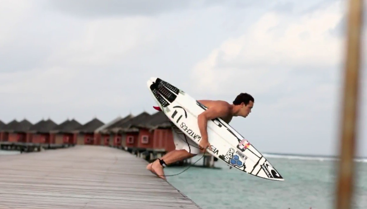 Jordy Smith surfing in Maldives - Bending Colours - Webisode 3