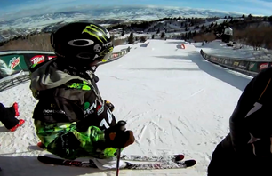 Dew Tour Slopestyle Run with Jossi Wells
