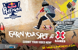 [Red Bull Phenom]: Red Bull Gives Amateurs Everywhere a Chance to Make it to the X Games