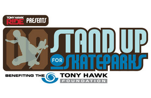 Tony Hawk's Stand Up for Skateparks Event Goes Off