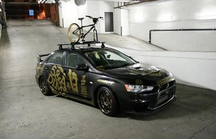 5&A Dime x Hypebeast Lancer Evo Taking Part in Gumball Rally