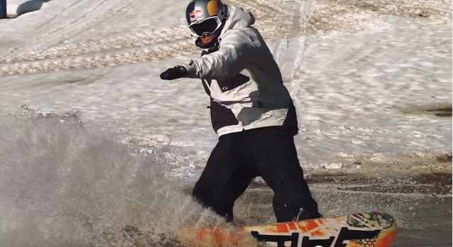 Snowboard Session with 17-year-old Scotty James