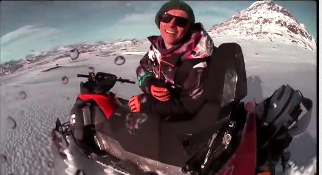 Day In The Life of Snowboarder Markku Koski