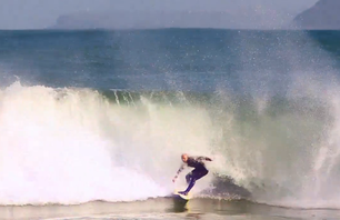 Slow Mo Surfing Wipeouts in Spain